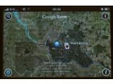 Bild: Weltenbummler: Screenshot von Google Earth auf dem Apple iPhone.