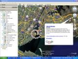 Bild: Neues Layer: Google News für Google Earth.