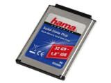 Bild: Widerstandsfähig: Speziell portable Geräte wie Notebooks profitieren von den Fash-Festplatten, die unter anderem Hama anbietet.