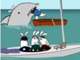 """Bild: Hai mit Ohren: Auch in """"Der weiße Hai"""" haben alle Darsteller Löffel."""
