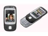 Bild: Das HTC Touch Dual vereint einen Touchscreen und eine herausziehbare Tastatur.