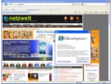 Bild: Die letzte Testversion des Internet Explorer 8 enthält schon alle neuen Funktionen. Nach dem Release Candidate kommt als nächstes die finale Version.