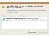 Bild: Foxmarks: Eine typische Extension-Installation unter Firefox