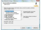 Bild: Nicht benötigte Programmkomponenten von WinOnCD 10 lassen sich bei der Installation alternativ auch abwählen.