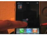 Bild: Die Icons auf dem Home-Bildschirm und in der unteren Leiste können beliebig verschoben und angeordnet werden.