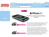 Bild: Das iPhone 3G im Angebot bei Otto.