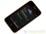 Bild: Auch für das iPhone fordert die GEZ Rundfunkgebühren, schließlich kann man damit zum Beispiel die Radioprogramme des WDR hören.