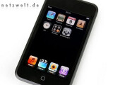 Bild: Dank WLAN und Touchscreen auch zum Surfen geeignet: der iPod touch