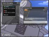 Bild: Chatten im IPTV-Client Joost.