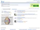 Bild: Die obere Hälfte der Startseite von Google Knol, der untere Teil ist die Knol-Fundgrube.