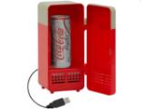 Bild: Der USB-Kühlschrank sorgt für ein kaltes Getränk am Schreibtisch.
