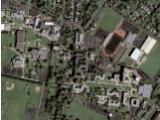 Bild: Das erste Bild von Googles neuem Informanten Geoeye-1 zeigt die Kutztown University im US-Bundesstaat Pennsylvania.