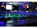 Bild: Ruhe vor dem Sturm: In Kürze treten hier Computerspieler aus der ganzen Welt gegeneinander an.
