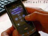 """Bild: Mit der Funktion """"Fingerpad"""" wird aus dem Display ein Touchscreen."""