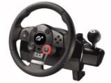 Bild: Volle Kontrolle: Mit dem Logitech Driving Force GT lässt es sich stilvoll um die Kurve brettern.