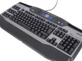 Bild: Auch mit Logitechs abgespeckter Gamer-Tastatur ist imDunkeln gut munkeln (Darüberfahren für Nachtansicht).