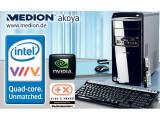 Bild: Komplett-Rechner zum humanen Preis: Der Akoya MD8833 von Medion steht ab Montag, 10. März in den Filialen von Aldi Süd.