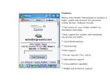 Bild: Kleiner Webbrowser mit Mozilla-Technologie: Minimo.