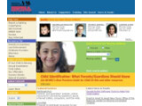Bild: Homepage des National Center for Missing & Exploited Children