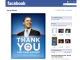 Bild: Das Facebook-Profil des zukünftigen Präsidenten.
