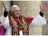 Bild: Papst Benedikt XVI. will die technikaffine Jugend per SMS erreichen. Quelle: Triff den Papst