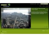 Bild: New York in der Ansicht vom Empire State Building als Synth. Der Name Photosynth ist eine Zusammensetzung aus Foto und Synthese.