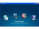 Bild: PixelCryptor verschlüsselt mit Bildern.