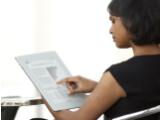 Bild: Plastic Logic sieht seinen Reader nicht nur als Wiedergabegerät für E-Books, sondern auch für Tabellen und Präsentationen.