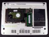Bild: Leichter Zugang zur Festplatte und einem Ram-Riegel
