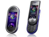 Bild: Samsung Musik-Handy: Links das Beat DJ, rechts das Beat Disc.