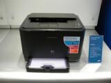 Bild: Leise und klein: Samsungs Drucker-Serie CLP-310.