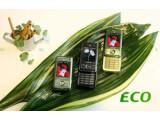 Bild: Samsung-Handy mit grüner Seele: E200 Eco