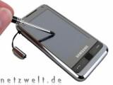 Bild: Dank Windows Mobile kommt der Stift oft zum Einsatz.