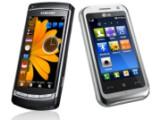 Bild: Für die Finger: Die Oberflächen von Samsung und LG.