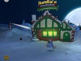 Bild: Sam & Max: In Episode 201 Ice Station Santa ist der Weihnachtsmann der Gegner.