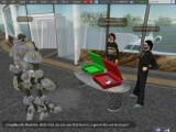 Bild: Second Lifes neuer Bewohner: EDD, hier mit seinen Testfreunden