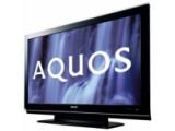 Bild: Die LCD-TVs der Reihe Sharp Aquos BD, hier ein älteres Modell, sind maximal 23 Millimeter dick und mit einem Blu-Ray-Abspielgerät ausgestattet.