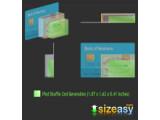 Bild: Bei Sizeasy.com wird auf einen Blick deutlich, wie groß das Wunschgerät im Vergleich zu Alltagsgegenständen ist.