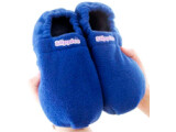 Bild: Slippies können in der Mikrowelle erwärmt werden. Danach braucht niemand mehr mit kalten Füßen zu kämpfen.