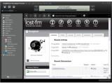 Bild: Musik-Manager im Web 2.0: Songbird.