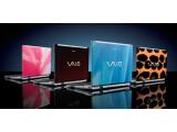 Bild: Vier neue Designs für ein Vaio-Notebook, das die Umwelt schont.