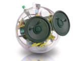 Bild: Soundbomb: Eine kleine Kugel mit großer Wirkung.