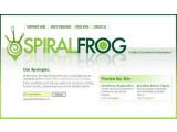 Bild: Spiralfrog: Derzeit leider nur in Amerika und Kanada verfügbar.