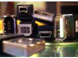 Bild: Verwirrende Vielfalt: die unterschiedlichen Steckervarianten von USB und FireWire