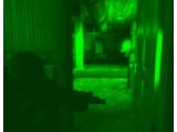 Bild: Ein Restlichtverstärker sorgt auch im Dunkeln für Durchblick