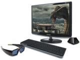 Bild: Samsung Syncmaster 2233RZ: Dreidimensionales Erlebnis mit 3D-Brille von Nvidia.