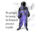 """Bild: """"Wir entschuldigen uns für das Rösten des Pentium II..."""""""
