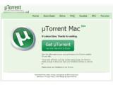 Bild: Nach zweijähriger Entwicklung jetzt auch für den Mac: µTorrent.