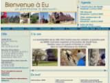 Bild: Die Homepage von Eu erreicht man bereits unter www.ville-eu.fr.