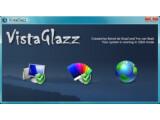 Bild: Das Auswahlmenü von VistaGlazz.